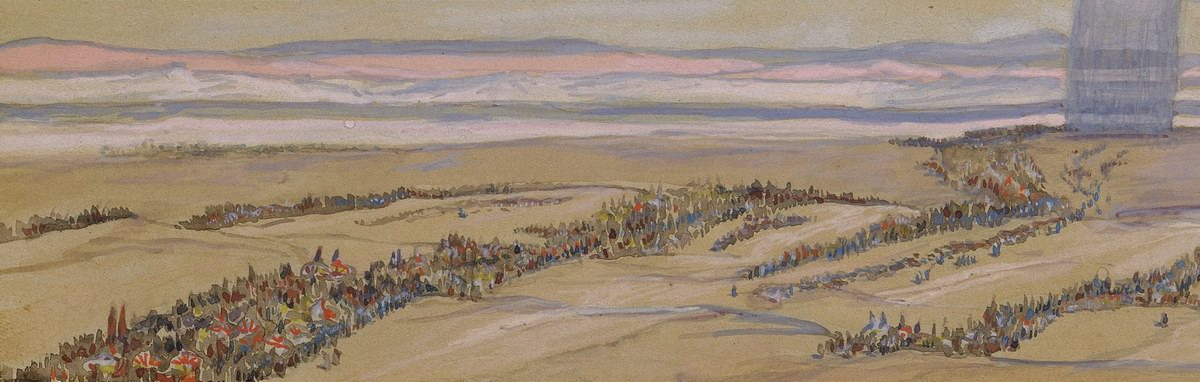 x1952-196,170, The Exodus/Pharoah Pursues the Israelites, Artist: Tissot, Photographer: John Parnell, Photo © The Jewish Museum, New York